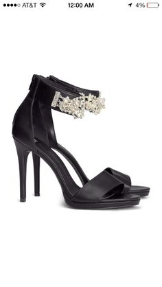 Bridesmaid heels. H&M