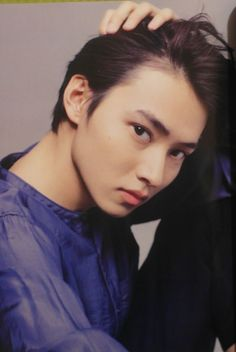 Yamazaki Kento from [別冊+act] Magazine.S : Become more handsome?Kkkkk and his looks so. Japanese Drama, Japanese Boy, Kentaro Sakaguchi, L Dk, Crush Pics, Human Pictures, Kento Yamazaki, Cute Actors, Asian Hair