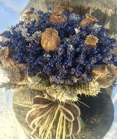 Levandule,makovice,obilí... #levandulova kytice#levandule#lavandula#lavander#lavandula angustifolia#flowers#