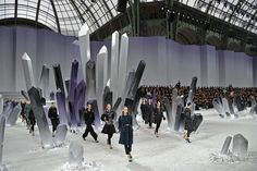 Spaceships, Supermarkets, and More: Inside Chanel's Most Over-the-Top Shows Photos | W Magazine