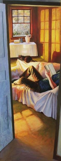 Rainy days          Friday nights, 2006      Evenings at home, 2005      Reading      Rest, 2005      Lectrice      The first warm...