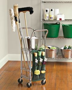 Williams Sonoma Mobile Utility Rack