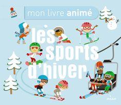 Un livre interactif pour découvrir la station de ski et les sports d'hiver dès…