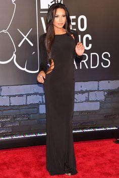 La red carpet de los VMAs 2013: Naya Rivera
