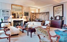 Cy Twombly, Jacqueline De Ribes, Sexy Home, European House, Neutral Palette, Classic Chic, Dream Rooms, Home Interior, Living Area