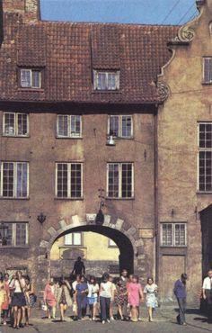 1977-й год. Рига. Шведские ворота.