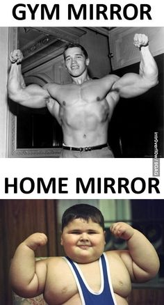 That Scumbag Gym Mirror