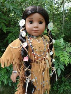 American Girl Doll Kaya   BEAUTIFUL NATIVE AMERICAN GIRL KAYA DOLL