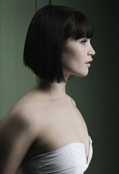 I want this style but longer at the front maybe?? and definitely no fringe! Gemma Arteton can pull it off but I cant!! xx