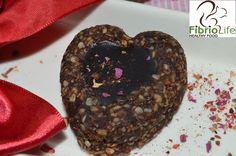 Inimioare cu inima de ciocolata pentru mic dejun