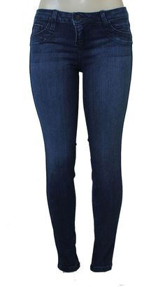 BLEULAB Skinny Jeans Curve Legging Jeggings Azurite Coated Brick Blue Brown #Bleulab #SlimSkinny