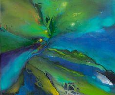 Imagine 8 Acrylic on Canvas 24 x 20 inches Laurel Sheridan