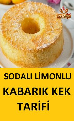 Lemon Soda Cake Recipe- Limonlu Sodalı Kek Tarifi Soda has a great effect on pastries … - Cheesecake Cupcakes, Cheesecake Recipes, Pastry Recipes, Cooking Recipes, Drink Recipes, Soda Cake, Pasta Cake, Gourmet Cakes, New Cake