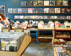 During the week, Vacation Vinyl is open until 9pm to snag some exclusive records.