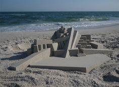 Modernist Sandcastles / Calvin Seibert
