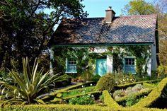 Glenveagh National Park Donegal Ireland gardeners cottage by Joseph Mischyshin via Wikimedia.