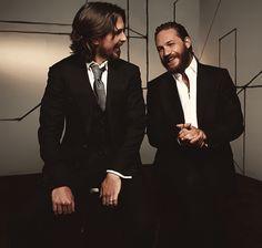 Christian Bale & Tom Hardy