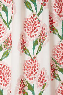Anthropologie - Speckled Blooms Curtain