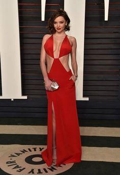 "runwayandbeauty: ""Miranda Kerr in a Kaufmanfranco dress - 2016 Vanity Fair Oscar Party on February 2016 in Beverly Hills, California. Sexy Dresses, Beautiful Dresses, Fashion Dresses, Beautiful Women, Celebrity Red Carpet, Celebrity Style, Vanity Fair, Style Miranda Kerr, Glamour"
