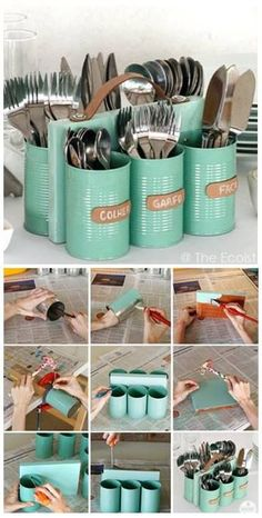 Creating awesome homemade cozy diy does not require serious artistic talent. Get inspired with these room diy easy to make wall decor diy ideas. Add your favorite quotes, emoji diy ideas and colors to Aluminum Can Crafts, Tin Can Crafts, Aluminum Cans, Diy Home Crafts, Room Crafts, Diy Wall Decor, Diy Home Decor, Wall Decorations, Diy Para A Casa