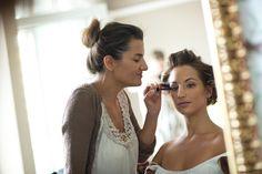 My lovely job Backless, Bride, Makeup, Dresses, Fashion, Wedding Bride, Make Up, Vestidos, Moda