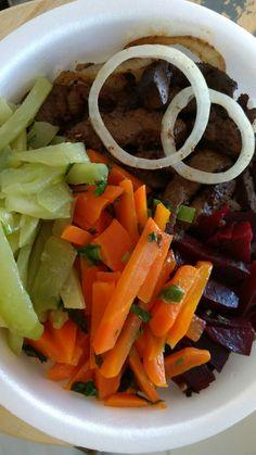 Refeição Fit, só Legumes e Carne