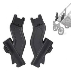 Uppababy Vista Lower adapters makes your VISTA unique and even more easy to use.This is an fantastic extension to make the stroller longer creating more space between the two seats.It make the secound seat higher from the ground making it more comfortable for your child. With the Uppababy unique design the stroller can be folded…