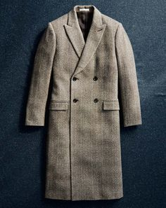 Club Monaco Winter 2015  Men The Outerwear Shop Cashmere Herringbone Topcoat The softest, most luxe rendition of our topcoats is double-breasted with a peaked lapel and elongated proportion.