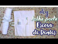 DIY - Toalhinha Porta Escova de Dente | MUITO FÁCIL!!! - YouTube