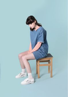 Denim T-shirt Dress http://www.thewhitepepper.com/collections/dresses/products/denim-t-shirt-dress