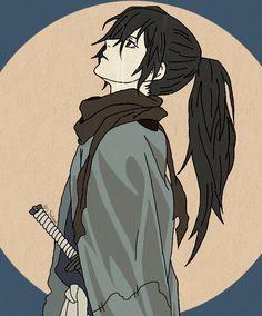 Hyakkimaru Dororo: Anime Art, Anime E Manga Anime Boy Character, Character Aesthetic, Character Concept, Character Design, Anime Guys, Manga Anime, Anime Art, Samurai Anime, Cosplay Anime