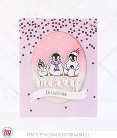 Avery Elle: Three Holiday Cards by Melania | merry christmas