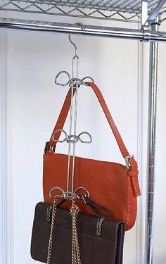 wardrobe handbag storage hook. Will store between four and eight ... 2d98e518128bd