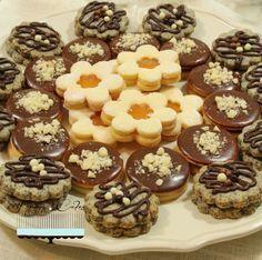 Linecké koláčiky na tri spôsoby