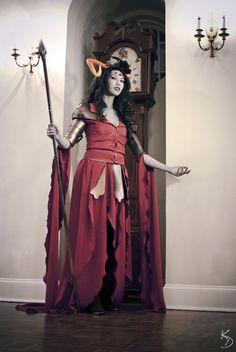 Her Imperial Luminescence, Aradia Megido from Homestuck. by Ceriene.deviantart.com #cosplay