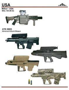 M-32 and ATK XM25