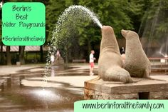 Berlin has a number of water playgrounds to bring some welcome relief during the warmer summer months. Here is some info about the fabulous Plansche Plaenterwald set in the middle of forest.