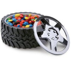 Tire bowl, for cereals or sweets