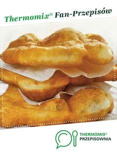 Wariant LANGOSZ jest to przepis stworzony przez użytkownika emorien. Ten przepis na Thermomix<sup>®</sup> znajdziesz w kategorii Inne dania główne na www.przepisownia.pl, społeczności Thermomix<sup>®</sup>. Snack Recipes, Snacks, Bread Machine Recipes, Donuts, Catering, Bacon, Menu, Cooking, Breakfast