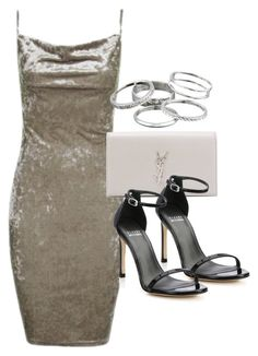 """Style #11620"" by vany-alvarado ❤ liked on Polyvore featuring Topshop, Yves Saint Laurent, Stuart Weitzman and Kendra Scott"