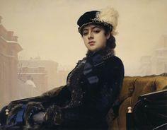 One of my favorite famous painting by Ivan Kramskoy