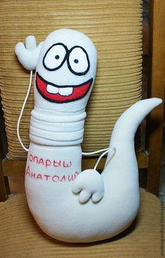 Купить Опарыш Анатолий - авторская игрушка, текстильная игрушка, игрушка на заказ, зверюшки, веселый подарок