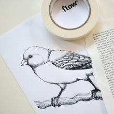 DIY – How to print on bookpages  Why didn't I think of this!
