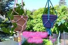 DIY T-shirt Plant Hanger   PGP