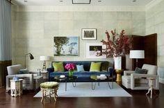 Prints by Didier Massard, Sebastiao Salgado and Laura Letinsky in a room designed by Boston's Frank Roop