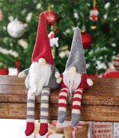 Crochet christmas gnomes, free pattern