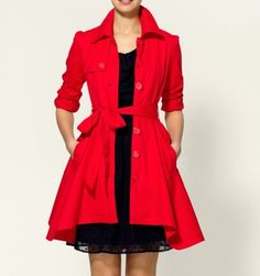 Trendy Trench Coat
