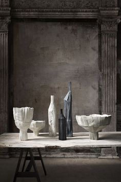 Paola Paronetto and collection Paper Clay