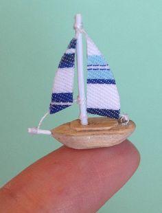 Mini Sailboat Decor