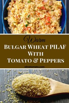 Move over quinoa! Have you tried this ancient Mediterranean grain? Full of fiber and minerals Bulgur Wheat is delicious and so easy to prepare Bulgur Recipes, Salad Recipes, Vegetarian Recipes, Cooking Recipes, Healthy Recipes, Nut Recipes, Vegetarian Dinners, Recipies, Healthy Dishes